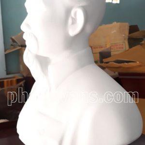 Tượng Bác Hồ Thạch Cao 50cm