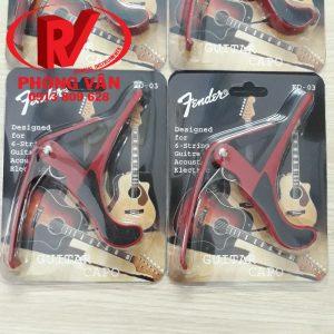 Capo Guitar Fender Màu Đỏ