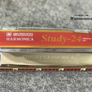 Kèn Harmonica Tremolo Suzuki Study 24