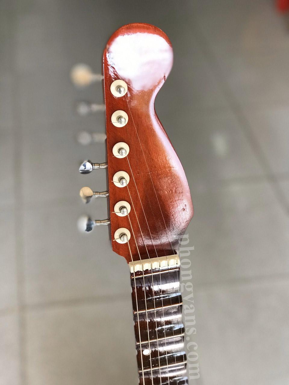 Đàn guitar vọng cổ thùng gỗ hồng đào