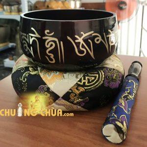 CHUÔNG BÁT TỤNG KINH NEPAL 5 INCH