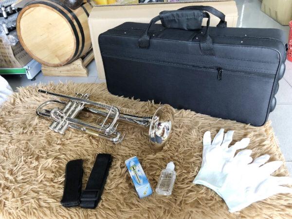 Kèn Trumpet Victoria Màu Trắng