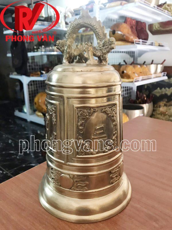 Chuông đồng Huế cao 30 cm