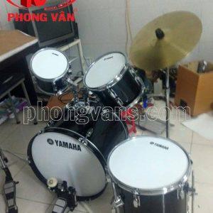 Bộ trống dàn nhạc Yamaha màu đen