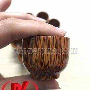 Chén ly dừa uống rượu