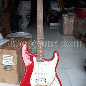 Đàn guitar điện tân nhạc Fender màu đỏ tươi