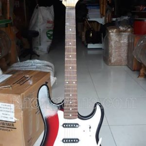 Đàn guitar điện tân nhạc màu đỏ đô