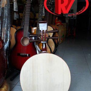 Đàn tứ tròn gỗ hương đỏ khảm trai