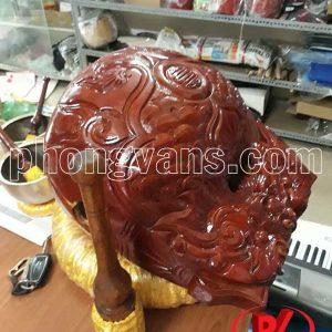Mõ gỗ mít Huế 6 tay 36 cm