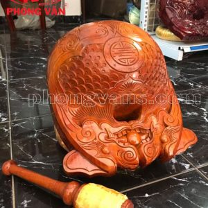 Mõ tụng kinh gỗ mít Huế 5,5 tay