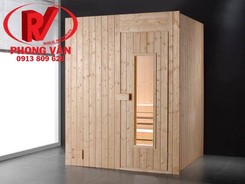 Xưởng nhận ốp gỗ thông phòng xông hơi spa