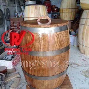 Thùng đựng gạo bằng gỗ10 kg