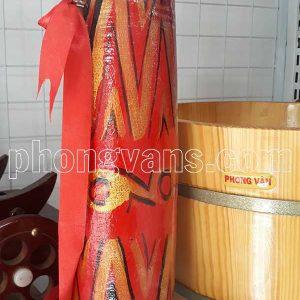 Trống cơm múa bằng gỗ
