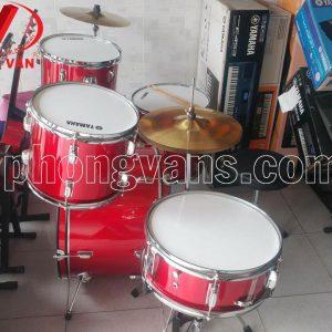 Trống jazz Yamaha màu đỏ tươi