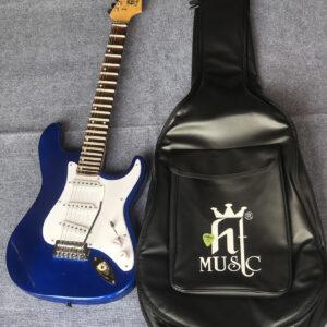Đàn guitar điện phím lõm Việt Nam vọng cổ màu xanh