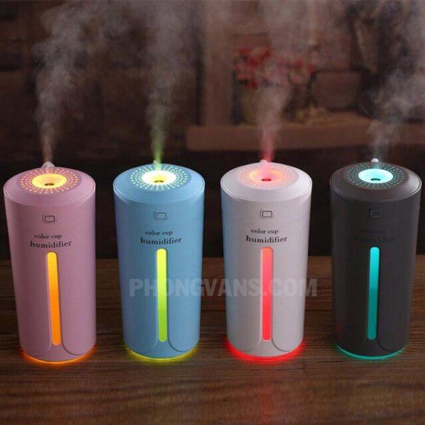 Máy phun sương tinh dầu hình Cốc Color Cup Humidifier