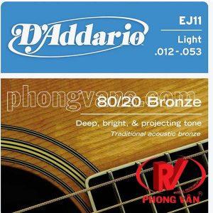 Bộ dây đàn D'addario EJ11