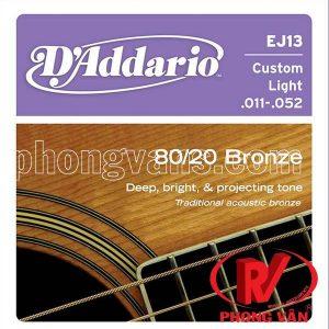 Bộ dây đàn D'addario EJ13