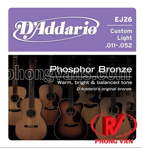 Bộ dây đàn D'addario EJ26