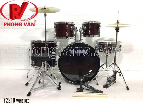 Bộ trống nhạc jazz Yamaha 10 mà