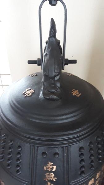 Chuông đồng Đài loan nặng 280 kg