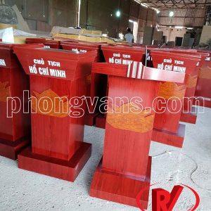 Cơ sở sản xuất bục tượng Bác gỗ công nghiệp