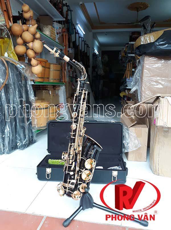 Kèn saxophone alto Yamaha màu đen