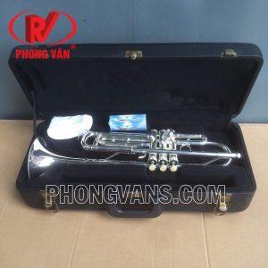 Kèn trompet Yamaha màu bạc