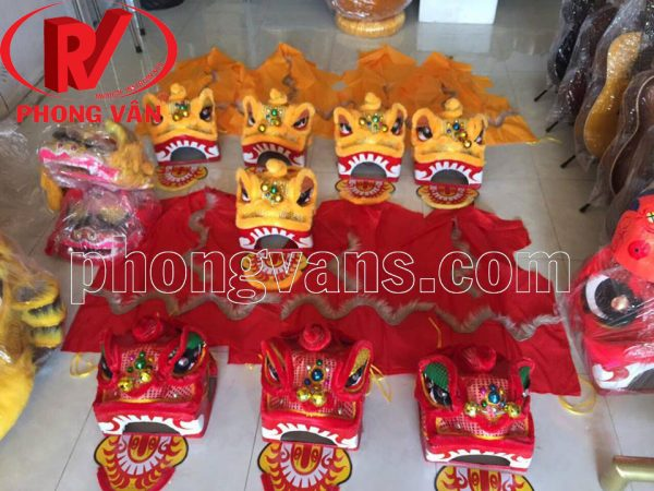 Shop bán đầu lân trẻ em Phong Vân