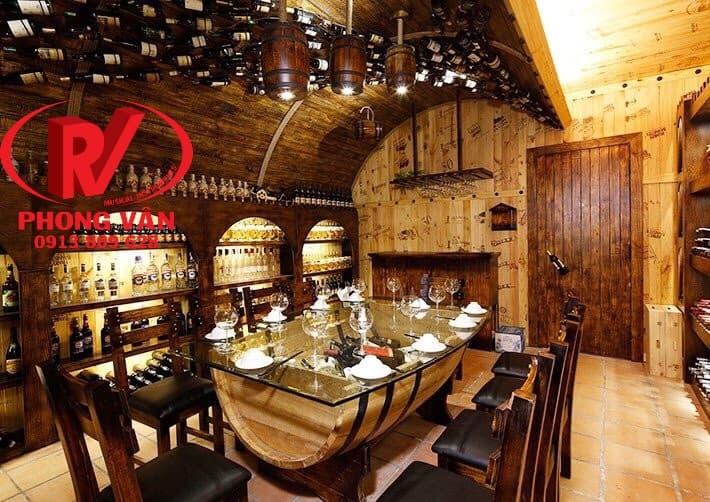 Thiết kế thi công hầm rượu vang