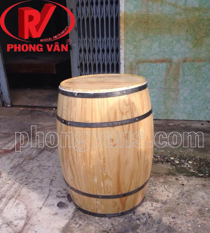 Thùng gỗ trang trí cao 120 cm