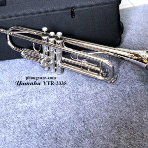 Kèn trumpet Yamaha màu trắng