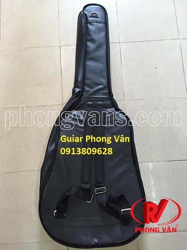 Bao đựng đàn guitar 3 lớp bằng da
