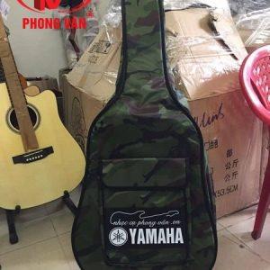 Bao đựng đàn guitar 3 lớp vải lính