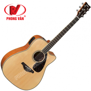 Đàn Electric Acoustic Guitar FGX820C Natural