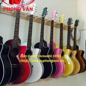 Đàn guitar acoustic màu VE85