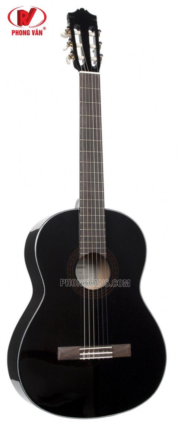 Đàn Guitar Classic C40 BLACK//02