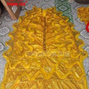 Đuôi lân kim sa vàng dài 2 mét