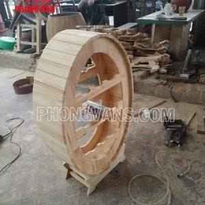 Kệ để chai rượu hình oval gỗ thông