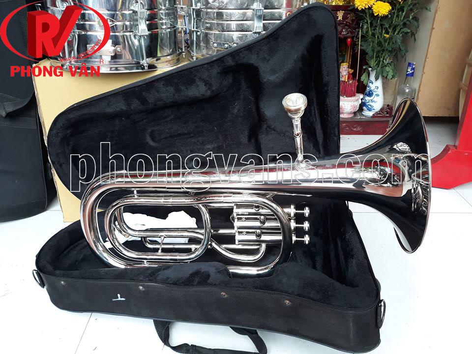 Kèn baritone Victoria màu trắng VBR-568EX