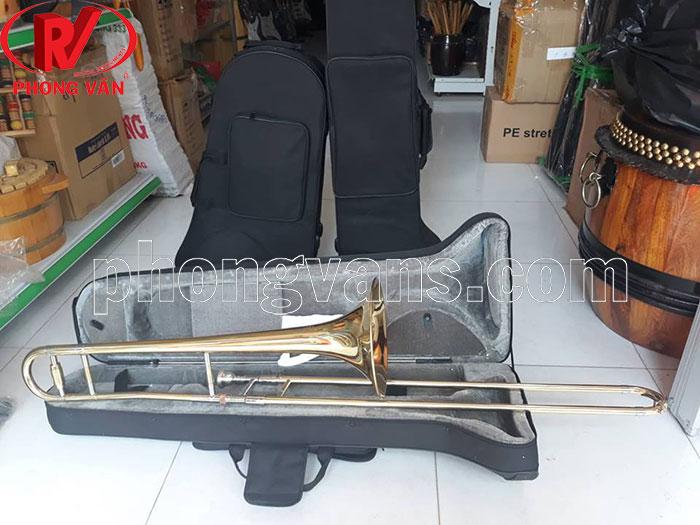 Kèn trombone vàng Victoria VTB-568EX