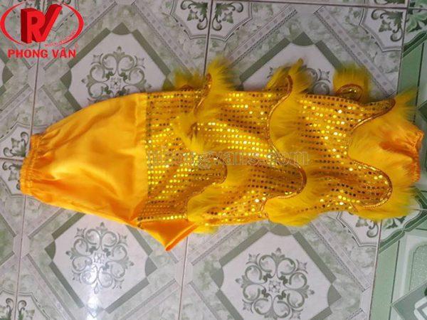 Quần lQuần kim sa vàng 80 cm 3 vảy