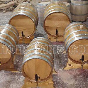 Thùng gỗ sồi trắng của Mỹ 50 lít