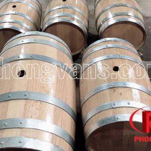 Thùng rượu gỗ sồi trắng Bắc Mỹ 250 lít