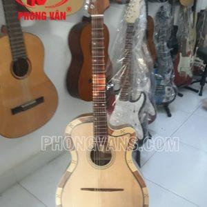 Đàn guitar phím lõm vọng cổ gỗ điệp
