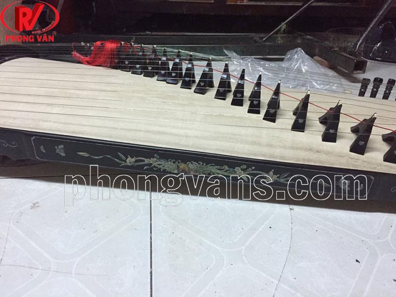Đàn tranh koto 21 dây gỗ Gụ mật khảm kỹ