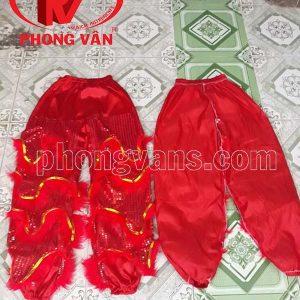 Quần lân kim sa đỏ dài 1 mét