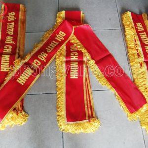 Băng đeo đội TNTP Hồ Chí Minh có tua rua