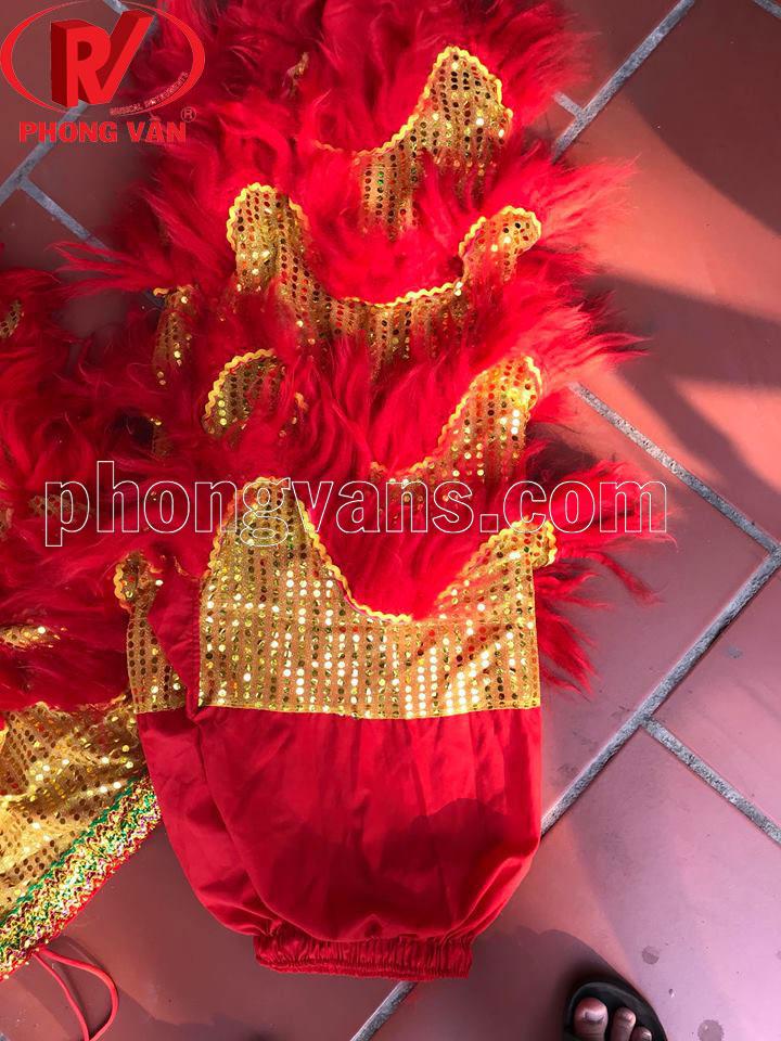 bộ đuôi quần lân cừu màu đỏ