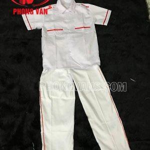 Đồng phục nghi thức đội viên quần dài áo ngắn